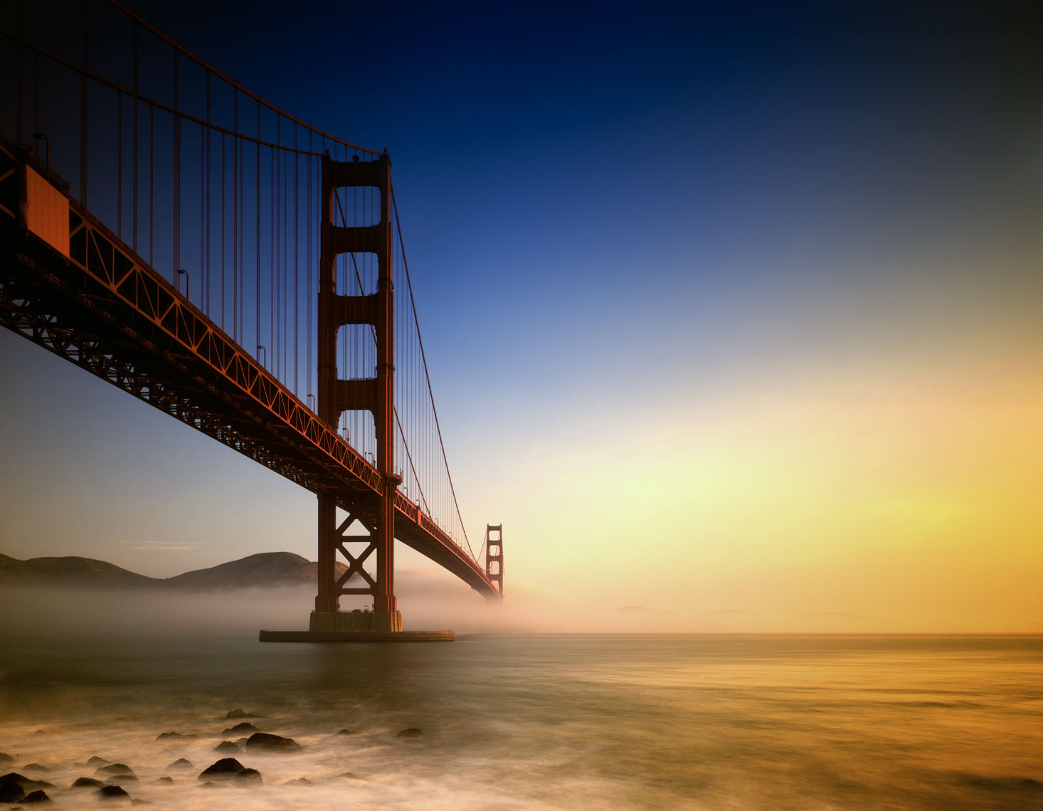 ©Robb Scharetg - Corvis - Golden Gate Bridge .  DC photographer , SF photograper