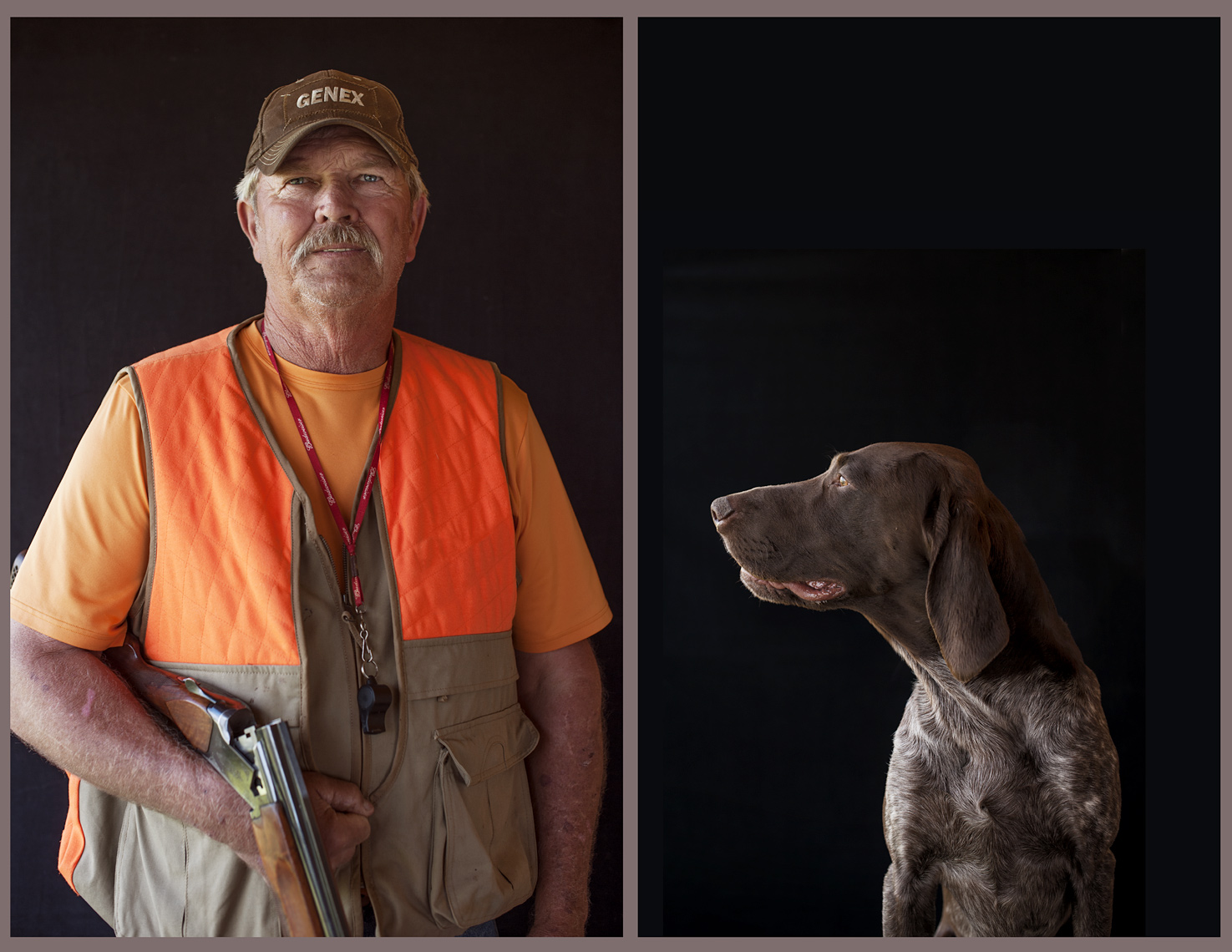 ©Robb Scharetg - Ed and his GSP.  DC photographer , SF photograper