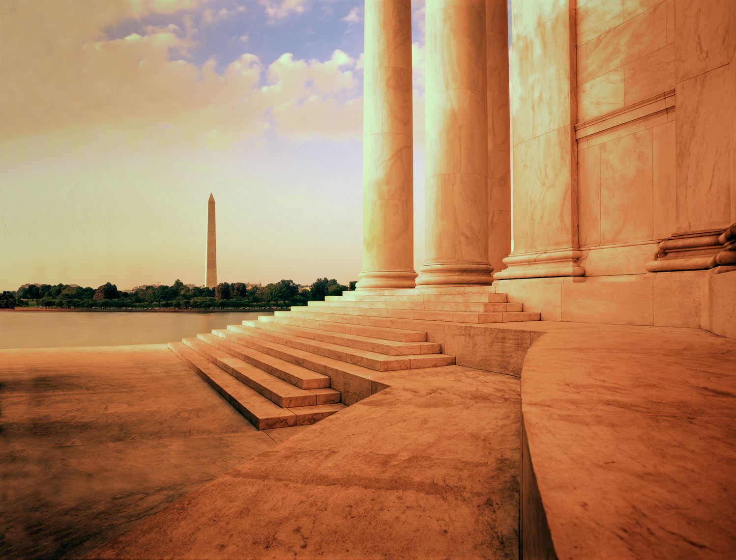 ©Robb Scharetg - Corvis campaign- Jefferson Memorial .  DC photographer , SF photograper