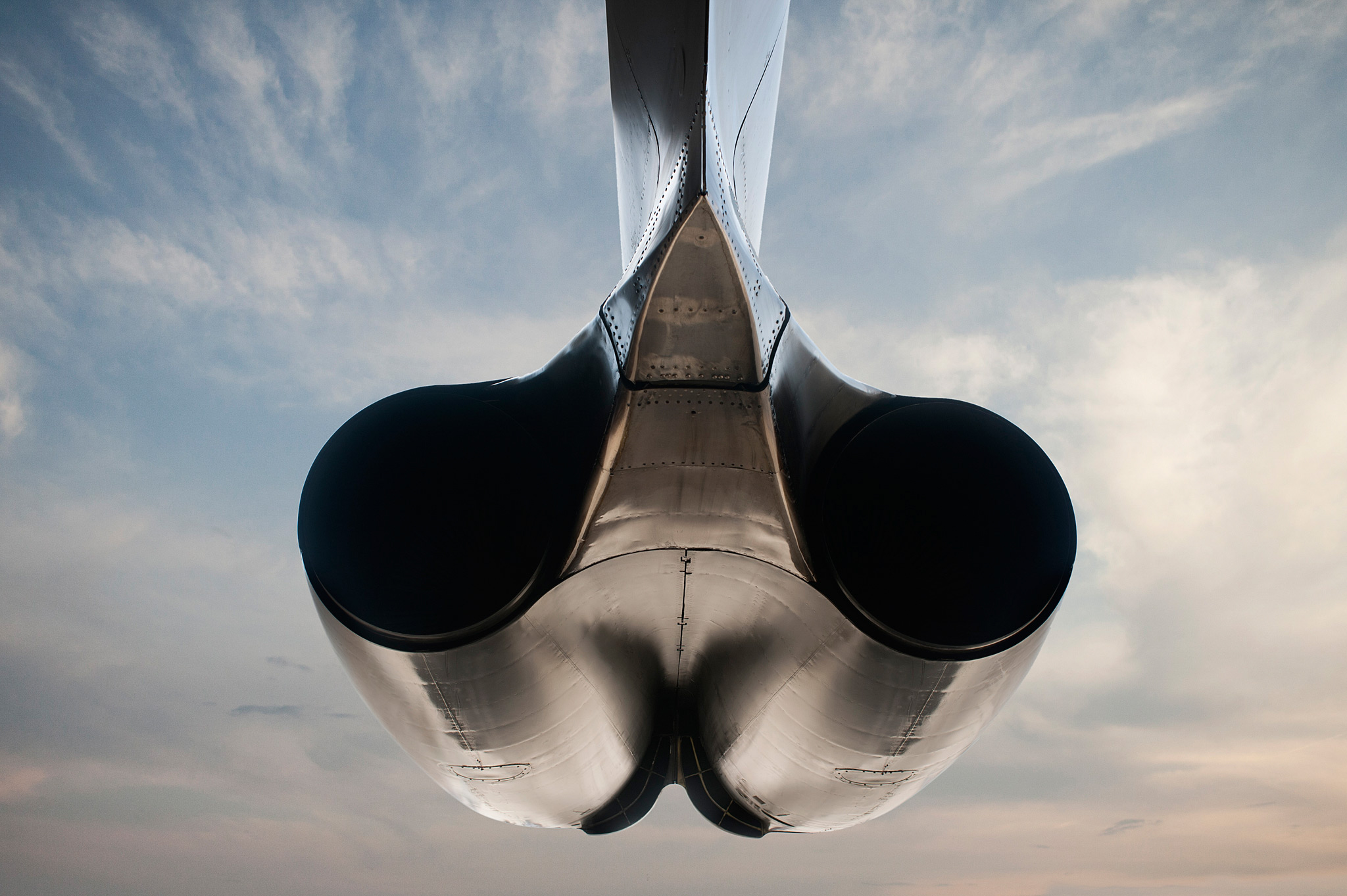B-52 Engine, rear view