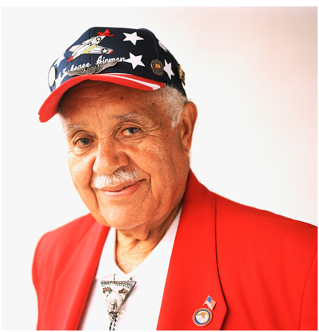 ©Robb Scharetg - WWII Veterans project - US Army Air Corps - Tuskegee Airman