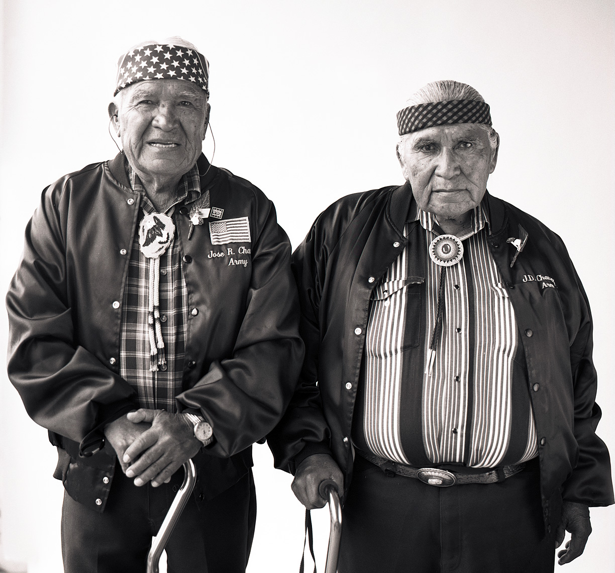 ©Robb Scharetg - WW II Veterans portrait project - US Army - Brothers who served together