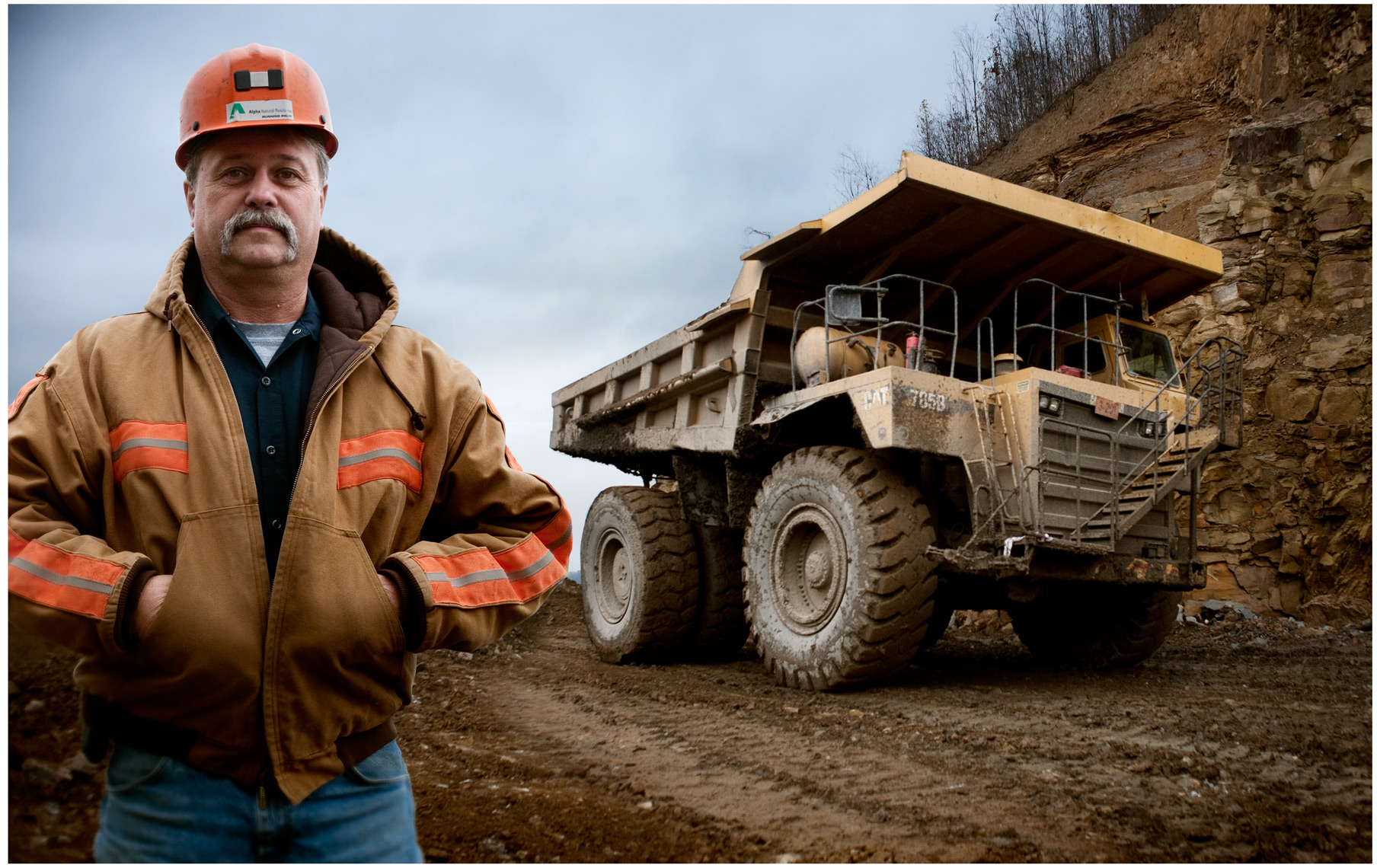 ©Robb Scharetg - Alpha Natural Resources Heavy Truck operator T. Clevinger